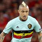 Belgium's Radja Nainggolan has been linked with a move to Manchester United