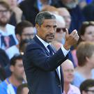 Brighton manager Chris Hughton hopes a vocal home support at the AMEX Stadium can help lift his team up the Premier League table