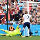Harry Kane tucks in his second goal