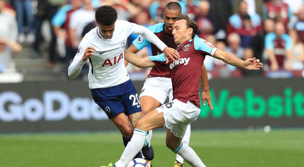 Dele Alli, left, gave West Ham plenty to think about