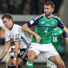 Gareth McAuley is back after his thigh injury.