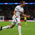 Harry Kane has put his goalless August firmly behind him