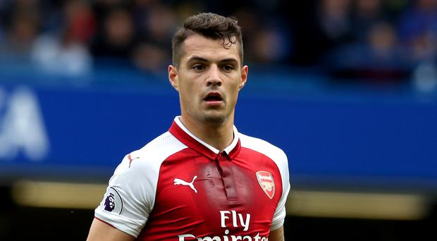 Granit Xhaka's signing contributed to a record spend on players by Arsenal