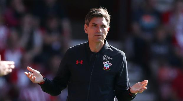 Mauricio Pellegrino, pictured, has challenged Southampton's misfiring strikers to sharpen up in front of goal