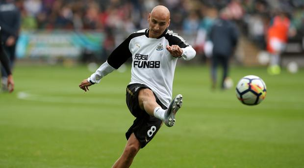 Newcastle midfielder Jonjo Shelvey (pictured) has apologised for a