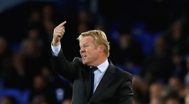 Ronald Koeman's Everton have won just twice in nine matches.