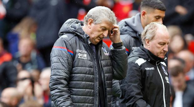Roy Hodgson's Crystal Palace are struggling for points and goals
