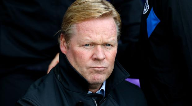 Everton manager Ronald Koeman saw positives in the defeat to Burnley
