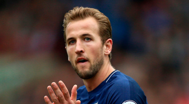 Memorable month: Harry Kane claimed another two for Spurs
