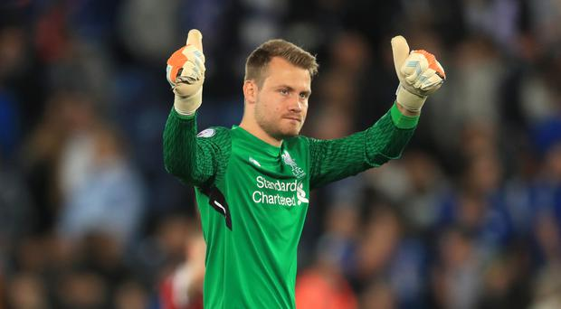 Liverpool keeper Simon Mignolet was frustrated by a 1-1 draw at Newcastle