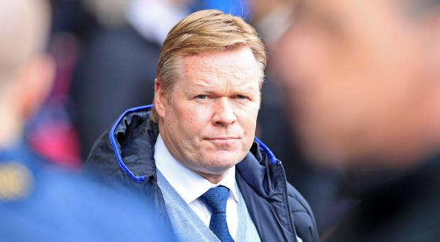 Everton manager Ronald Koeman is under pressure after a home defeat to Burnley