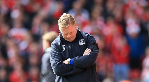 Koeman 'not unhappy' after Everton loss to Burnley