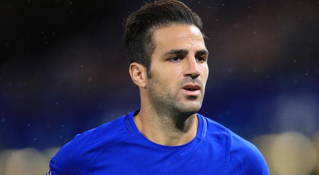 Cesc Fabregas, now at Chelsea, has admitted throwing pizza at former Manchester United manager Sir Alex Ferguson in October 2004