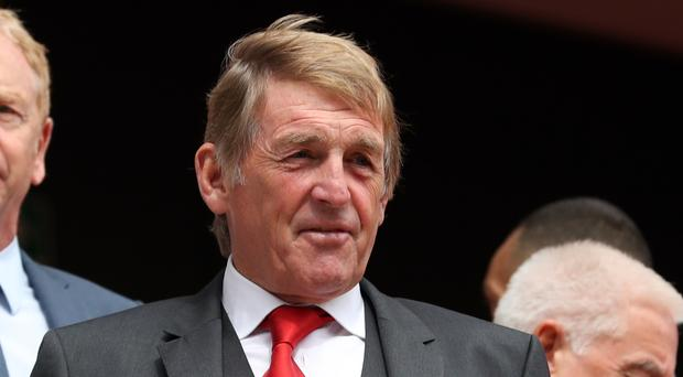 A stand named after former Liverpool player and manager Kenny Dalglish will be unveiled at Anfield ahead of the Premier League match with Manchester United.
