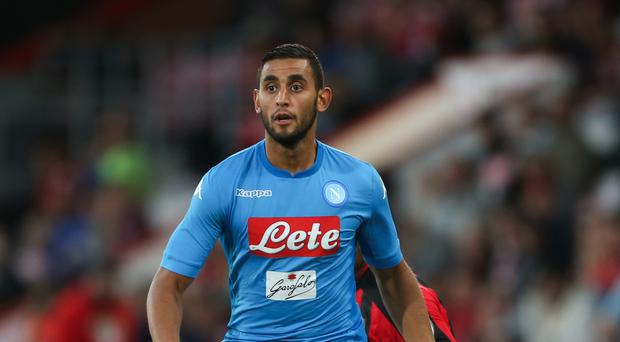 Napoli's Faouzi Ghoulam is reportedly on Manchester City's radar
