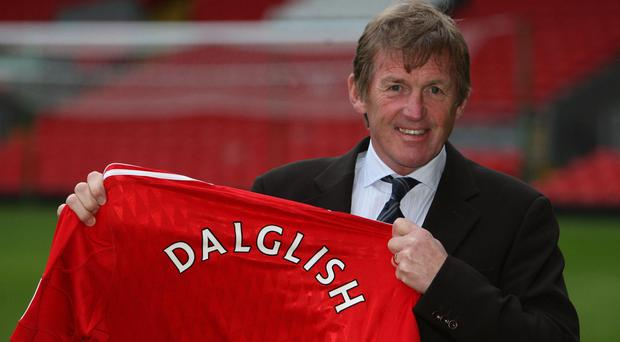 Liverpool great Kenny Dalglish is to have a stand at Anfield named after him on Friday.