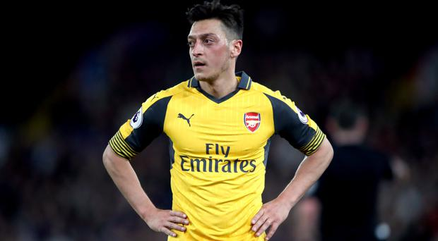 Mesut Ozil is back in contention