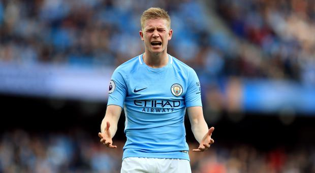 Kevin de Bruyne was the star of Manchester City's rout of Stoke