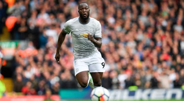 Chilled out: Manchester United striker Romelu Lukaku says he does not put any pressure on himself to score goals