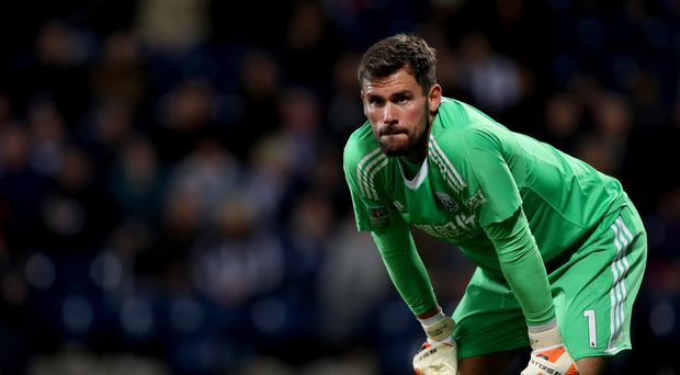 Ben Foster's injury is a cause for concern for West Brom