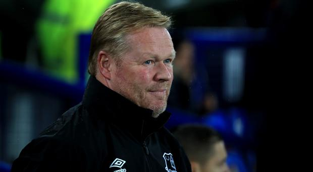 Ronald Koeman's Everton have won two of their last 12 games in all competitions