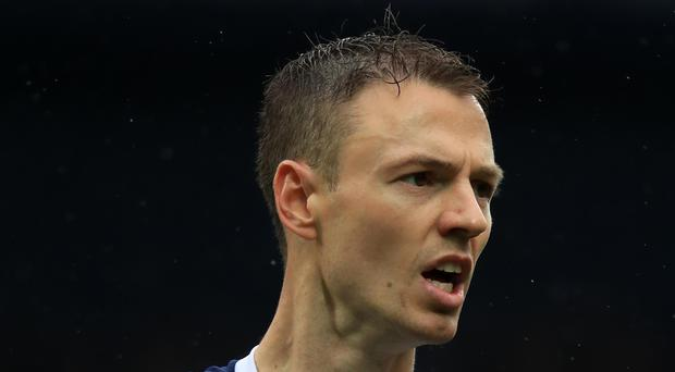 Jonny Evans is an injury doubt for the weekend