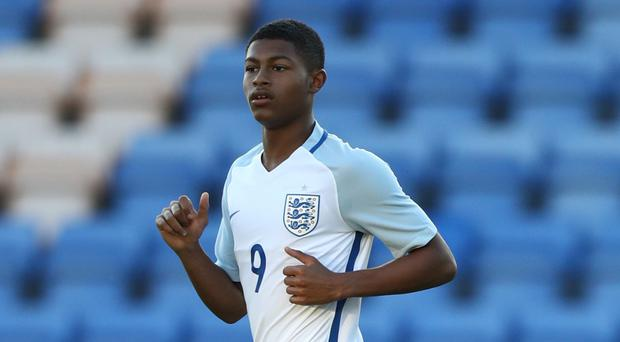 Rhian Brewster has scored back to back hat-tricks for England Under-17s