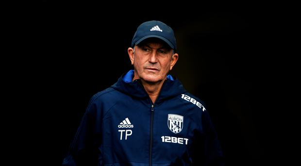West Brom boss Tony Pulis, pictured, goes head to head with Pep Guardiola this weekend