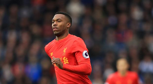 Liverpool's Daniel Sturridge opened the scoring in the win over Huddersfield