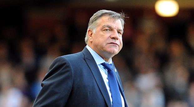Sam Allardyce admits he would consider an approach from Everton to be their next manager