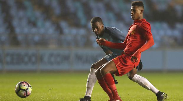 England's Under-17 World Cup winner Rhian Brewster returns to Liverpool in high spirits
