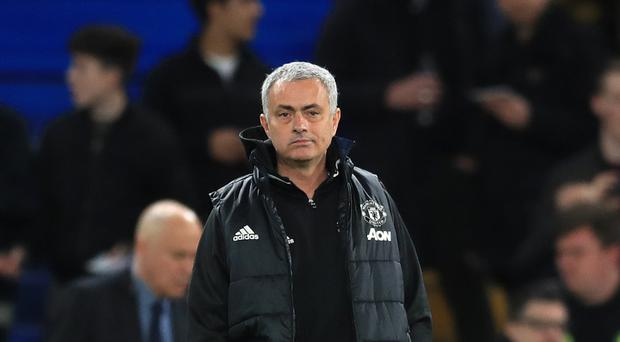 Jose Mourinho takes his Manchester United side to his former club Chelsea in the Premier League on Sunday
