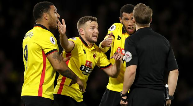 Marco Silva has called on Troy Deeney, left, to set a better example after he was hit with a three-match ban for violent conduct