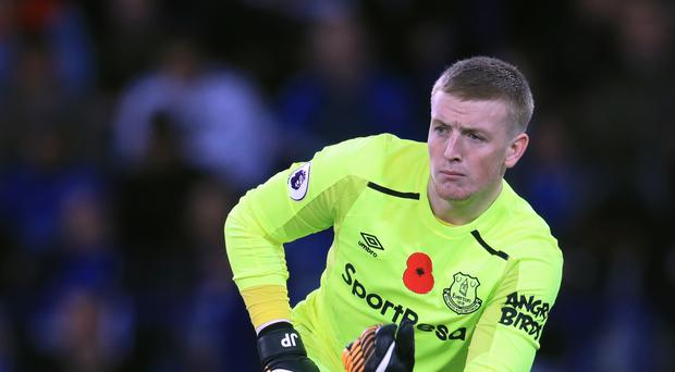 Jordan Pickford joined Everton from relegated Sunderland over the summer.