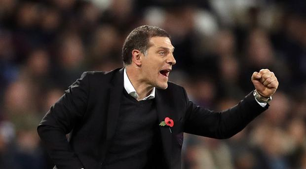 West Ham United manager Slaven Bilic saw his side lose