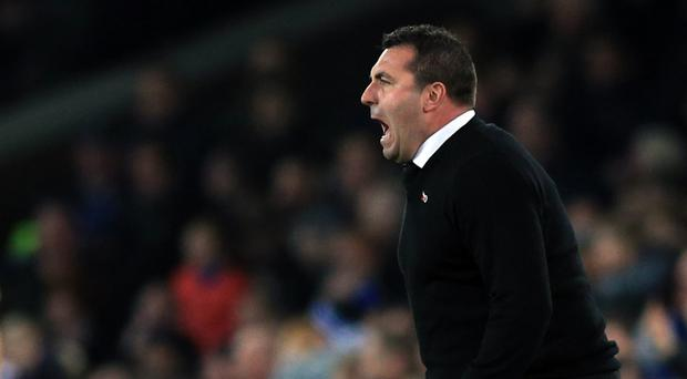 David Unsworth's first home game as Everton caretaker boss ended in victory