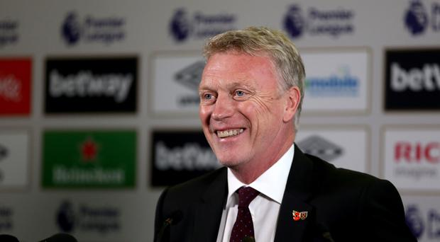 New West Ham manager David Moyes met the media at the London Stadium on Wednesday