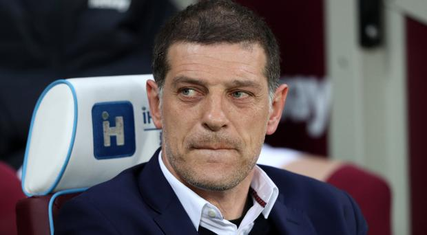 Slaven Bilic was sacked by West Ham on Monday
