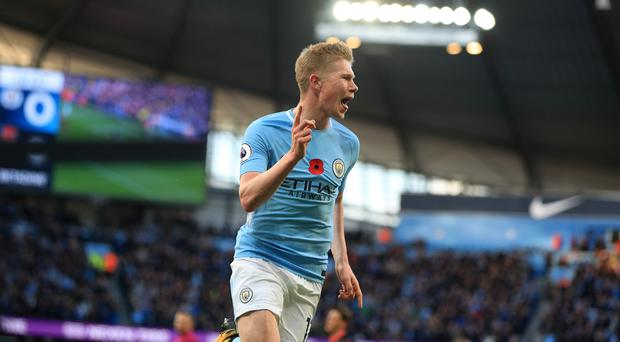 Kevin De Bruyne has been a key man in Manchester City's excellent start to the season