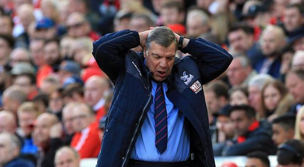 Sam Allardyce has ruled himself out of the running to become the next Everton manager