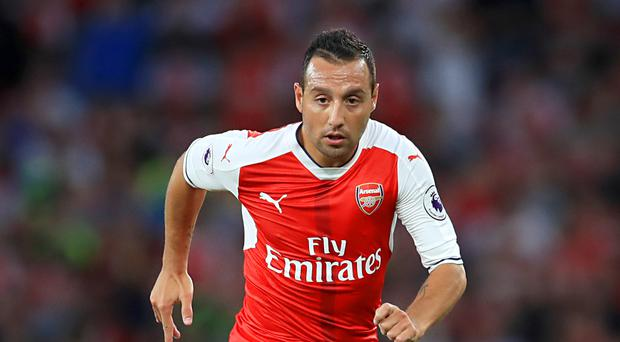 Santi Cazorla has not played for Arsenal since suffering an ankle injury in October 2016