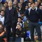 Arsenal manager Arsene Wenger and Tottenham boss Mauricio Pochettino are set to go head to head again