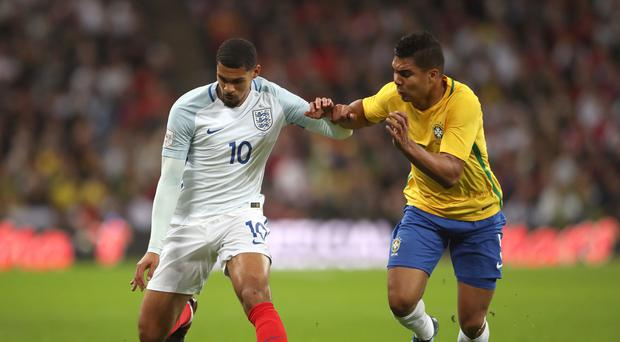 Ruben Loftus-Cheek, left, impressed in England's November friendlies against Germany and Brazil