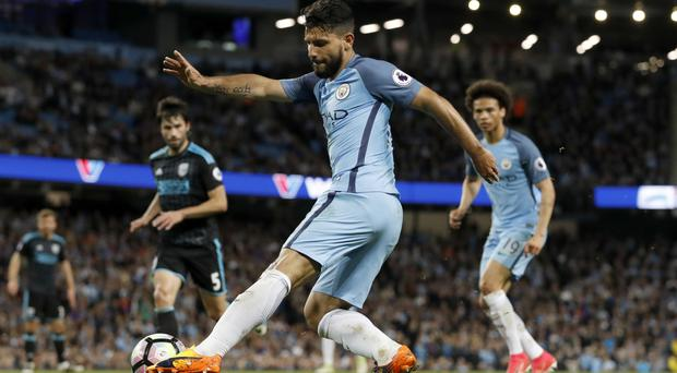 Sergio Aguero has declared himself fit to face Leicester