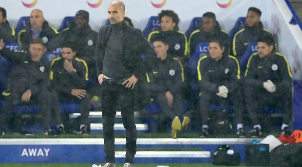 Pep Guardiola's Manchester City suffered a heavy loss at Leicester last season