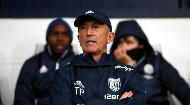 Tony Pulis faces an uncertain future after West Brom were thrashed by Chelsea