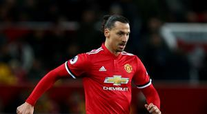 Manchester United's Zlatan Ibrahimovic return from injury in the win over Newcastle