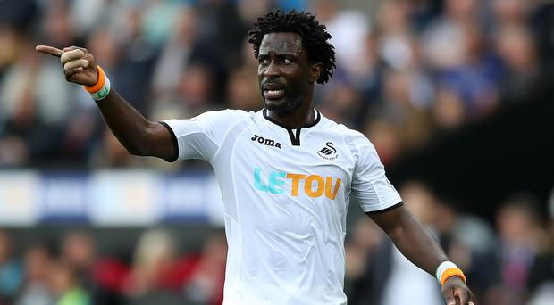 Wilfried Bony wants to get Swansea pointing in the right direction