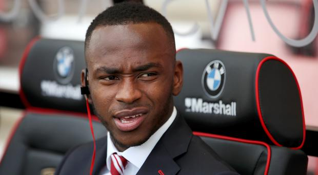 Saido Berahino has spent the majority of this season on the Stoke bench as his search for a goal continues