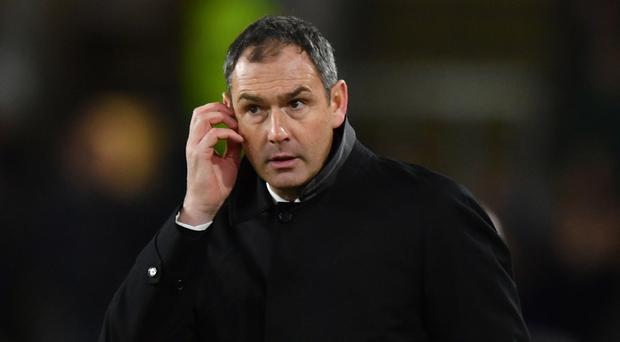 Swansea boss Paul Clement says his players must handle the pressure of playing at home.